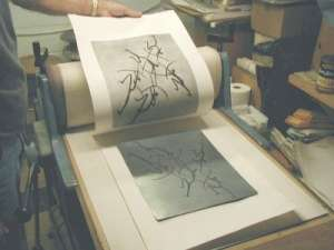 The Artfield Press Gallery About Intaglio Etchings